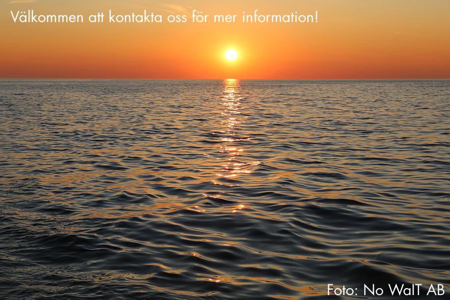 Välkommen att kontakta oss för mer information! Foto: No WaIT AB